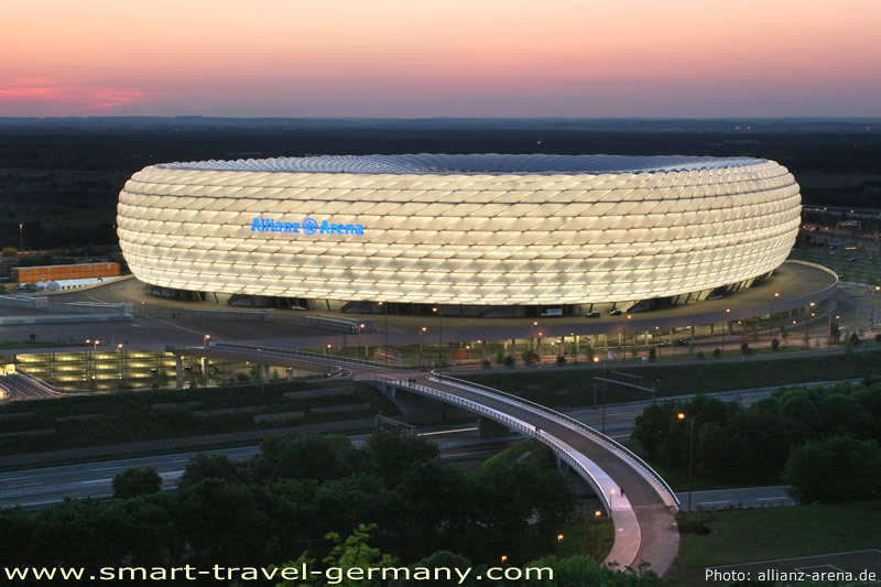 Construccion estadio de futbol allianz arena m nich for Photo templates from stopdesign image info